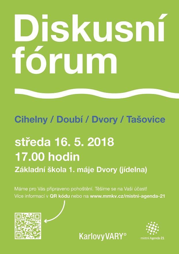 Diskusní fórum Cihelny, Doubí, Dvory, Tašovice