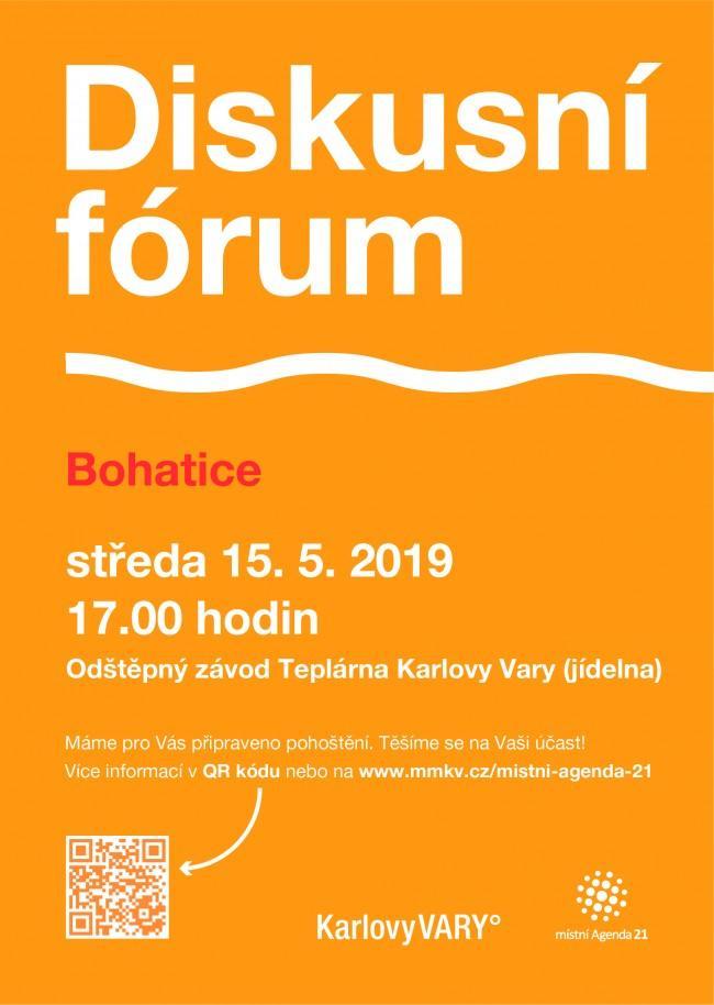 Diskusní fórum Bohatice