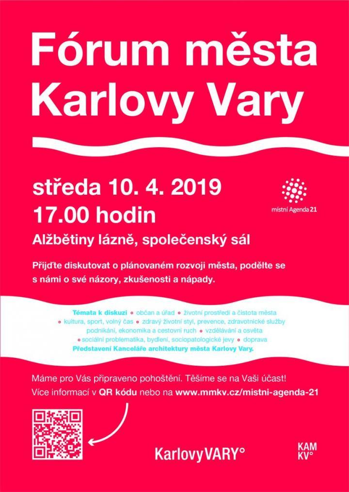 Velké fórum města Karlovy Vary