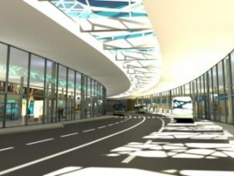Architektonická studie Integrovaného dopravního terminálu